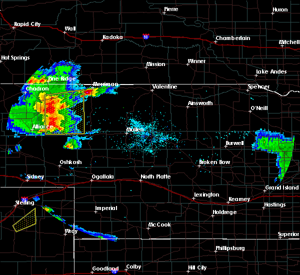 Radar Image for Severe Thunderstorms near Clinton, NE at 7/15/2019 8:24 PM MDT