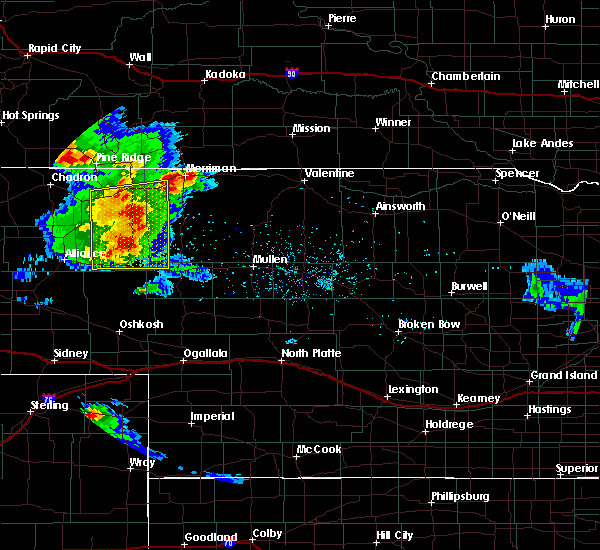 Radar Image for Severe Thunderstorms near Clinton, NE at 7/15/2019 8:44 PM MDT