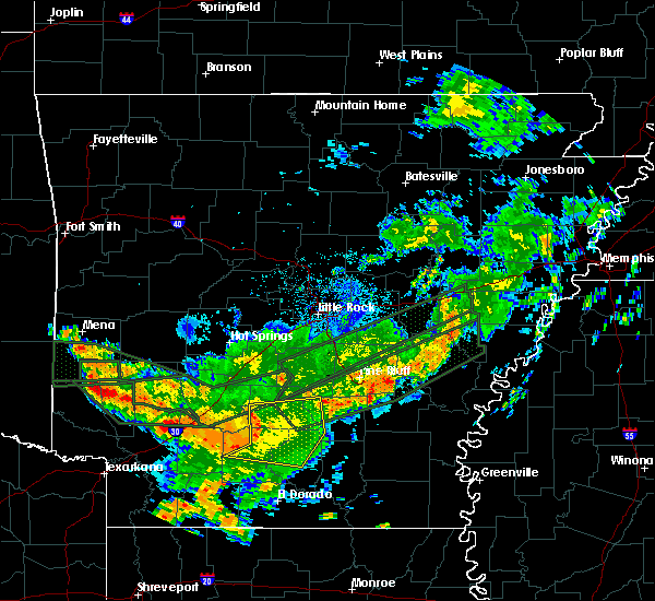 Radar Image for Severe Thunderstorms near Kingsland, AR at 7/16/2019 6:30 AM CDT