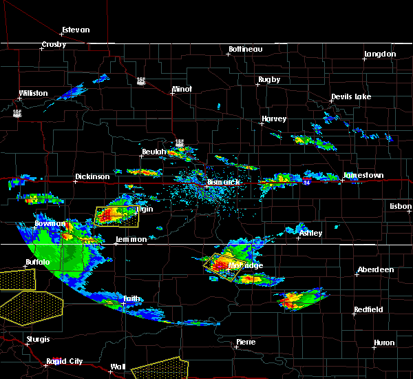 Radar Image for Severe Thunderstorms near Mott, ND at 7/16/2019 9:16 PM MDT