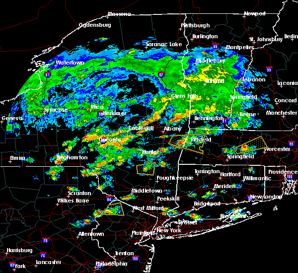 Radar Image for Severe Thunderstorms near Hurley, NY at 7/17/2019 2:16 PM EDT