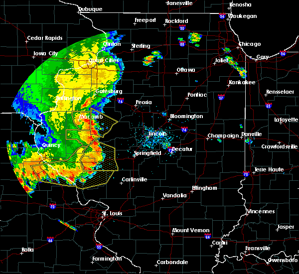 Radar Image for Severe Thunderstorms near Dunfermline, IL at 7/17/2019 4:44 PM CDT