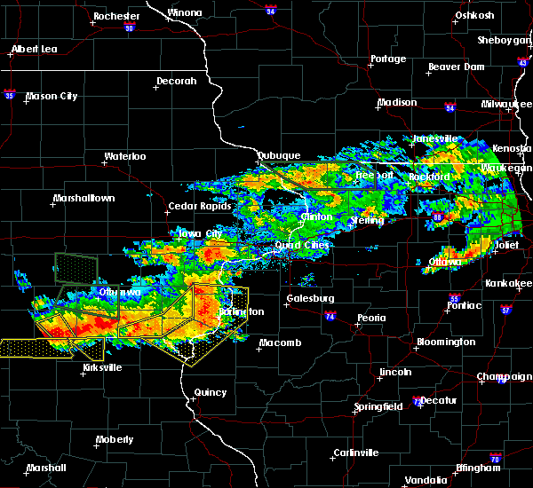 Radar Image for Severe Thunderstorms near Morning Sun, IA at 6/20/2015 7:45 PM CDT