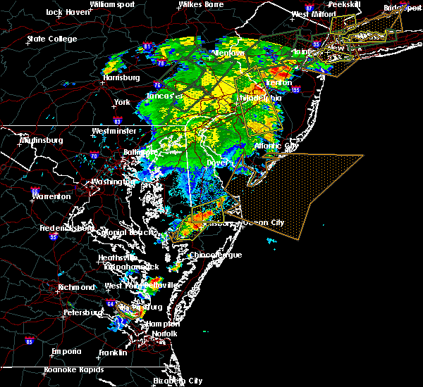Radar Image for Severe Thunderstorms near Jesterville, MD at 7/17/2019 8:43 PM EDT