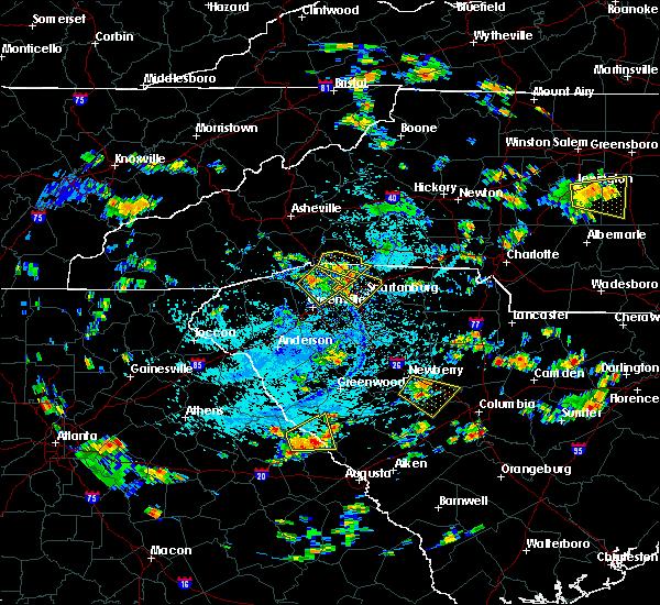 Radar Image for Severe Thunderstorms near Saxon, SC at 7/18/2019 3:46 PM EDT