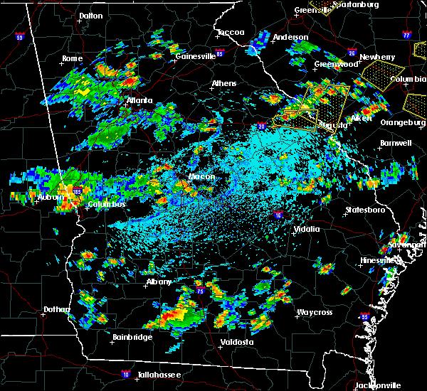 Radar Image for Severe Thunderstorms near Martinez, GA at 7/18/2019 4:11 PM EDT