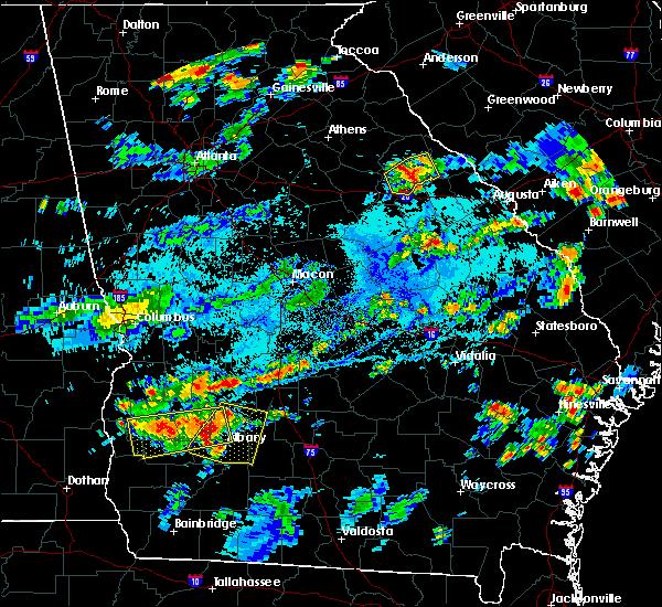 Radar Image for Severe Thunderstorms near Putney, GA at 7/18/2019 5:48 PM EDT