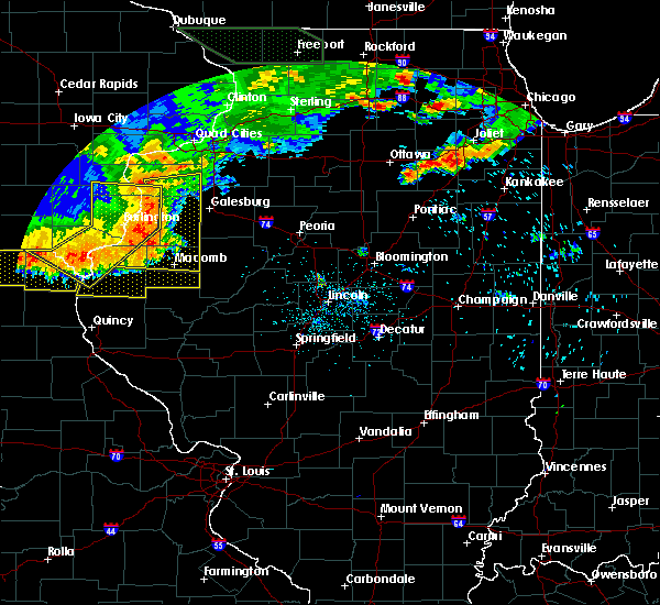 Radar Image for Severe Thunderstorms near Carthage, IL at 6/20/2015 8:14 PM CDT