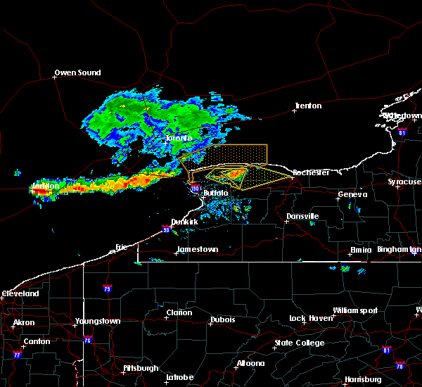 Radar Image for Severe Thunderstorms near Greece, NY at 7/19/2019 2:00 PM EDT