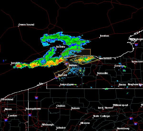 Radar Image for Severe Thunderstorms near Greece, NY at 7/19/2019 2:27 PM EDT