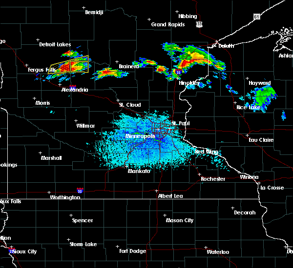 Radar Image for Severe Thunderstorms near Parkers Prairie, MN at 7/19/2019 2:41 PM CDT