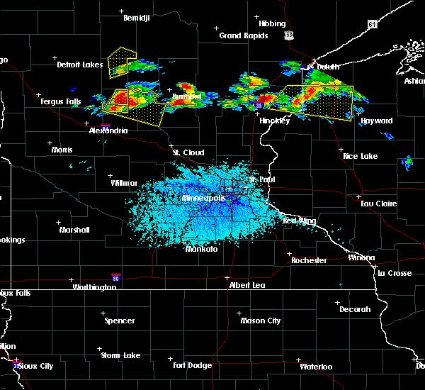Radar Image for Severe Thunderstorms near Long Prairie, MN at 7/19/2019 3:08 PM CDT