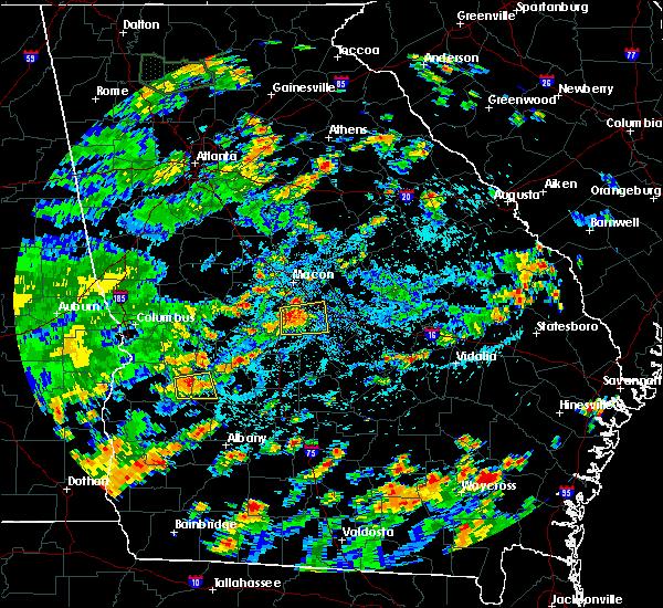Radar Image for Severe Thunderstorms near Dooling, GA at 7/19/2019 4:21 PM EDT