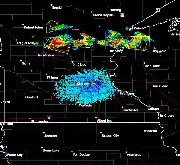 Radar Image for Severe Thunderstorms near Long Prairie, MN at 7/19/2019 3:22 PM CDT