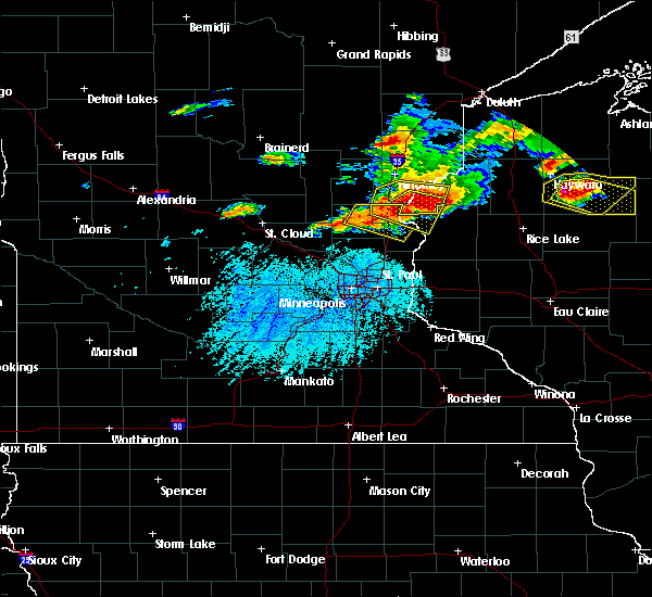 Radar Image for Severe Thunderstorms near Rock Creek, MN at 7/19/2019 5:01 PM CDT