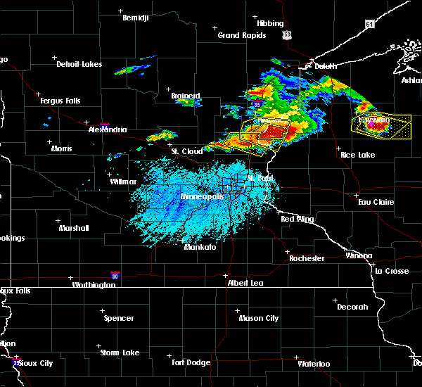 Radar Image for Severe Thunderstorms near Isanti, MN at 7/19/2019 5:03 PM CDT