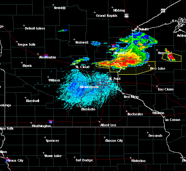 Radar Image for Severe Thunderstorms near Isanti, MN at 7/19/2019 5:25 PM CDT