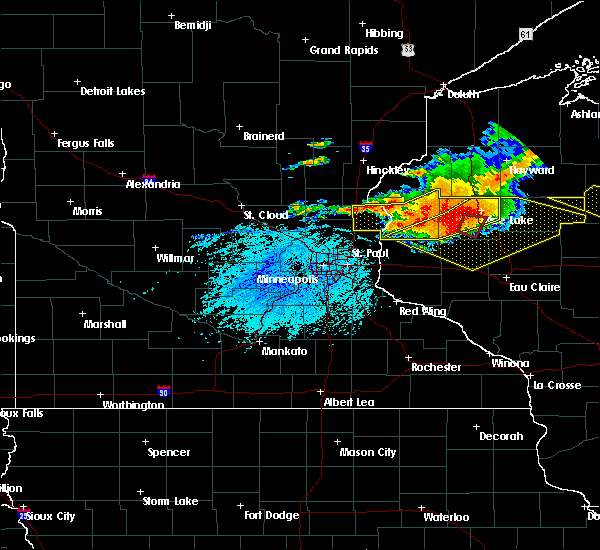 Radar Image for Severe Thunderstorms near Bloomer, WI at 7/19/2019 6:01 PM CDT