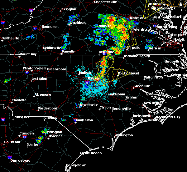 Radar Image for Severe Thunderstorms near Momeyer, NC at 6/20/2015 9:29 PM EDT