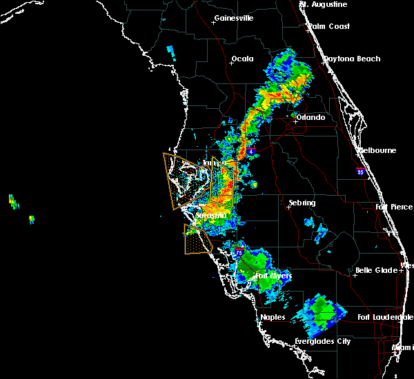 Radar Image for Severe Thunderstorms near Brandon, FL at 7/19/2019 7:30 PM EDT