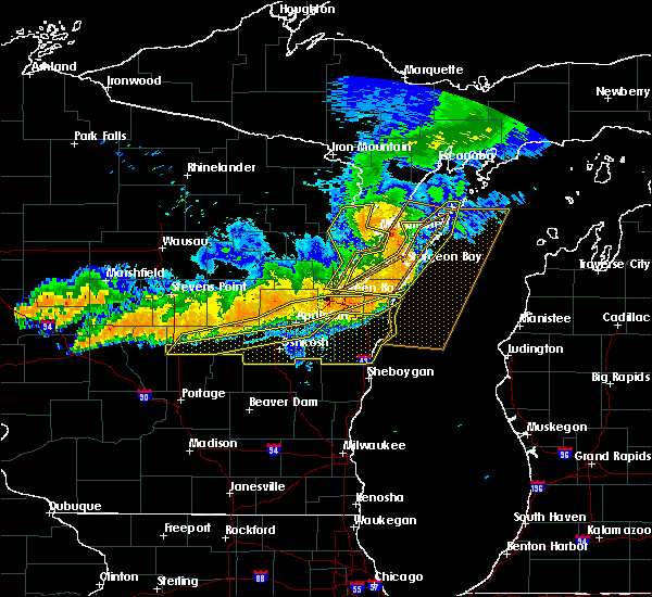 Radar Image for Severe Thunderstorms near Howard, WI at 7/19/2019 10:04 PM CDT
