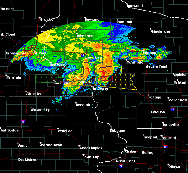 Radar Image for Severe Thunderstorms near Minnesota City, MN at 7/20/2019 9:48 AM CDT