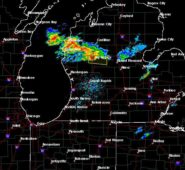 Radar Image for Severe Thunderstorms near Canadian Lakes, MI at 7/20/2019 11:01 AM EDT