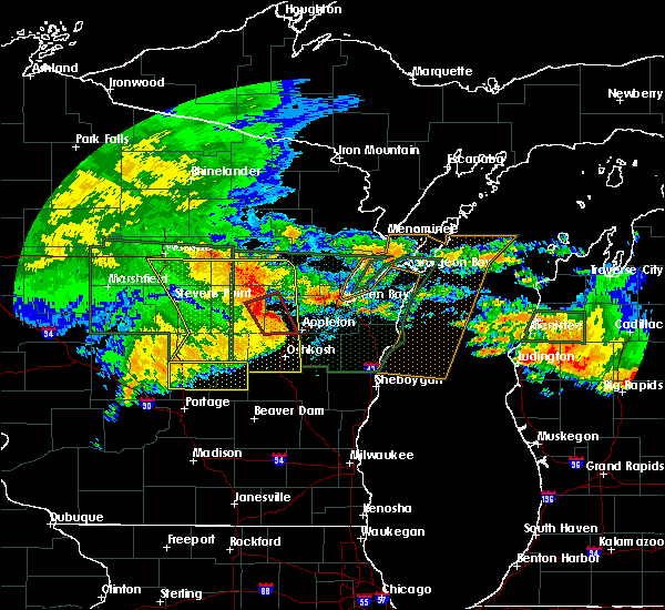 Radar Image for Severe Thunderstorms near Howard, WI at 7/20/2019 11:25 AM CDT