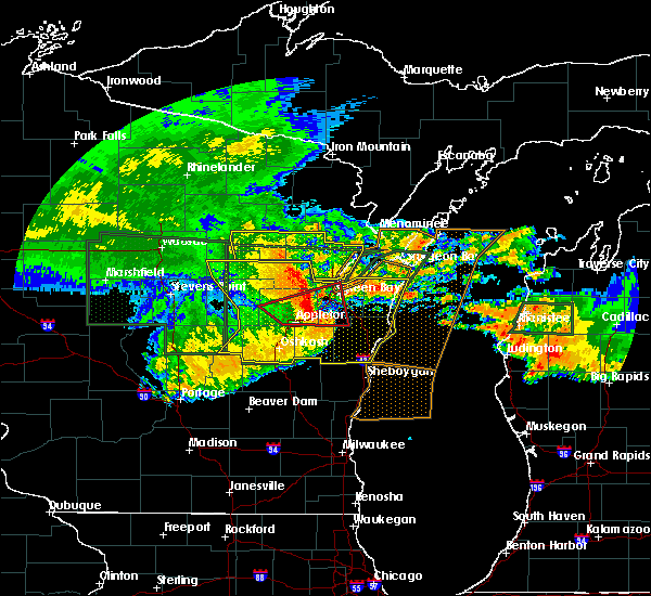 Radar Image for Severe Thunderstorms near Howard, WI at 7/20/2019 11:48 AM CDT