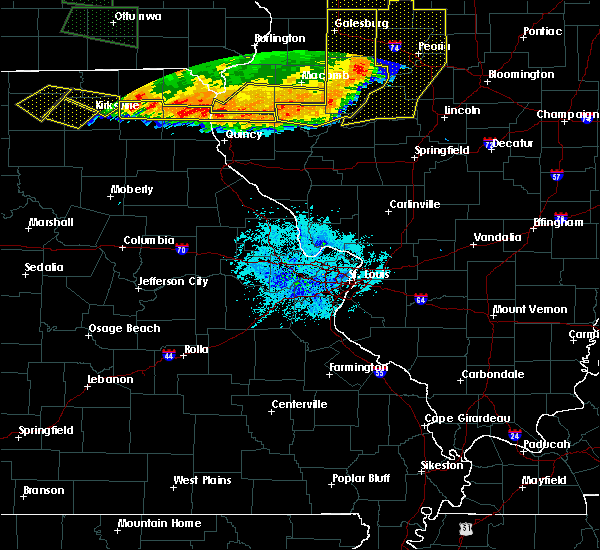 Radar Image for Severe Thunderstorms near Quincy, IL at 6/20/2015 8:59 PM CDT