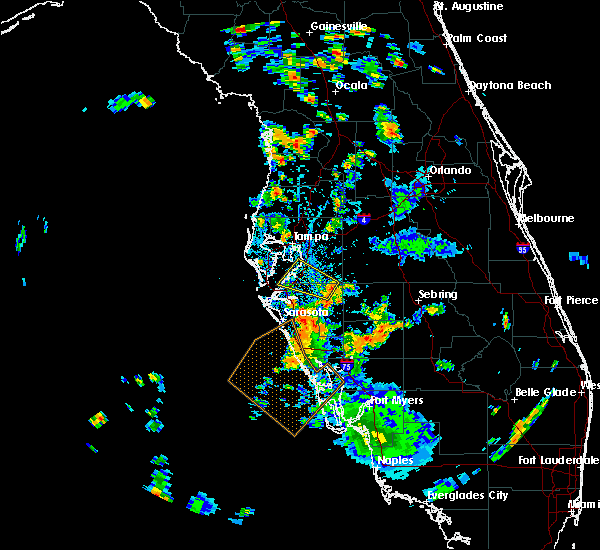 Radar Image for Severe Thunderstorms near Riverview, FL at 7/20/2019 4:52 PM EDT