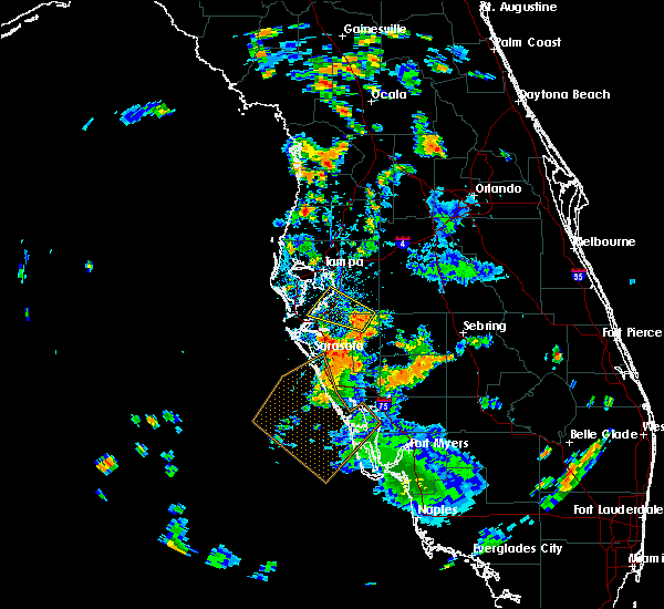 Radar Image for Severe Thunderstorms near Cortez, FL at 7/20/2019 4:56 PM EDT