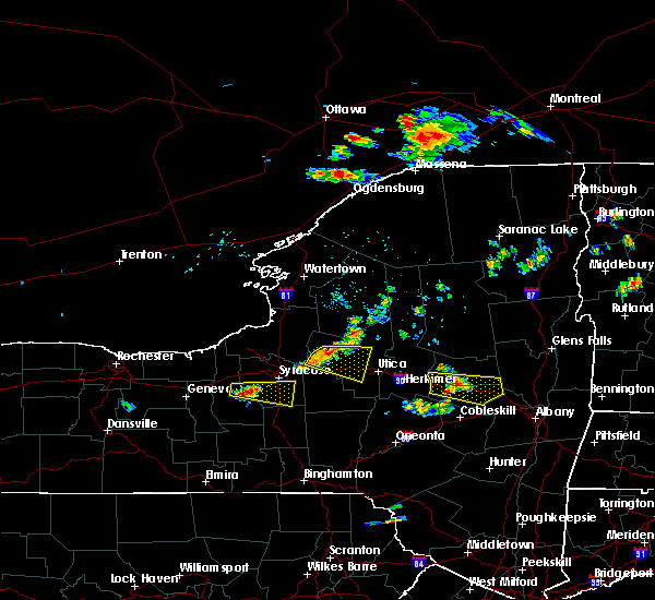 Radar Image for Severe Thunderstorms near Verona, NY at 7/20/2019 6:32 PM EDT