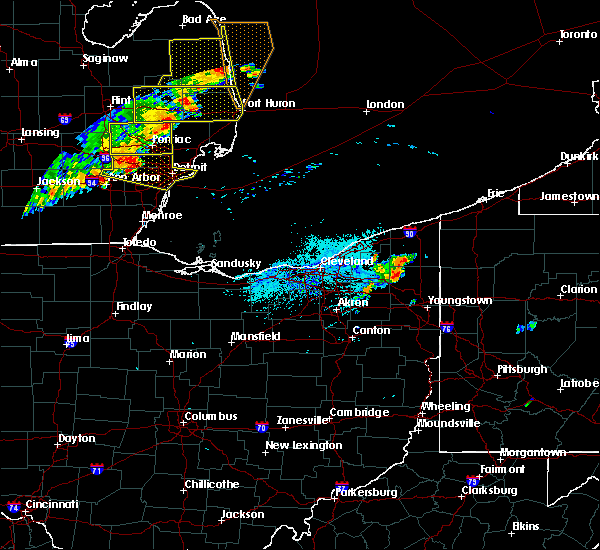 Radar Image for Severe Thunderstorms near Cortland, OH at 7/20/2019 6:37 PM EDT