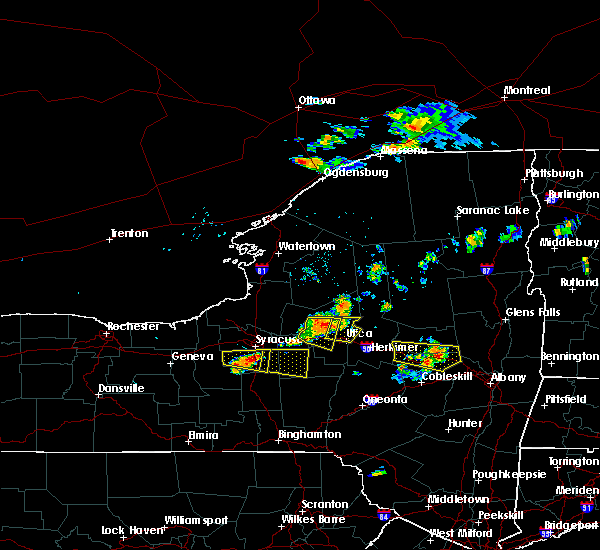 Radar Image for Severe Thunderstorms near Verona, NY at 7/20/2019 6:48 PM EDT