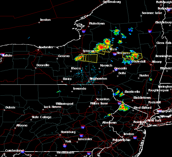 Radar Image for Severe Thunderstorms near Syracuse, NY at 7/20/2019 6:50 PM EDT