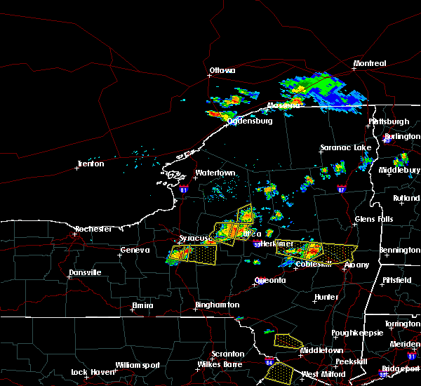 Radar Image for Severe Thunderstorms near Frankfort, NY at 7/20/2019 7:00 PM EDT