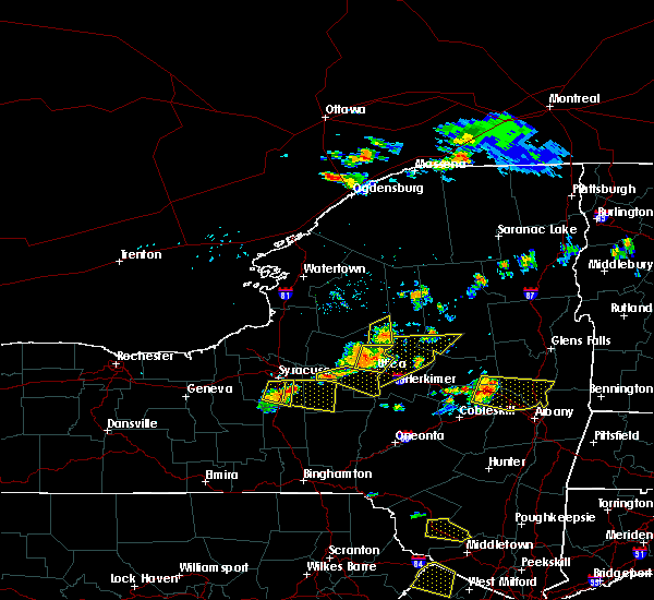 Radar Image for Severe Thunderstorms near Verona, NY at 7/20/2019 7:02 PM EDT
