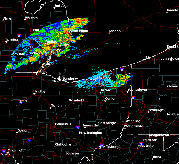 Radar Image for Severe Thunderstorms near Cortland, OH at 7/20/2019 7:03 PM EDT