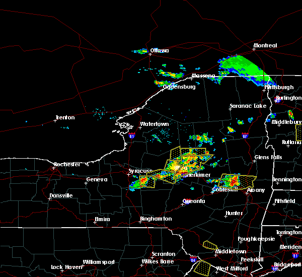 Radar Image for Severe Thunderstorms near Chadwicks, NY at 7/20/2019 7:21 PM EDT