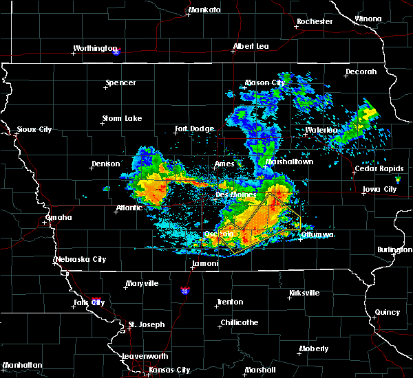 Radar Image for Severe Thunderstorms near Blakesburg, IA at 7/20/2019 6:30 PM CDT
