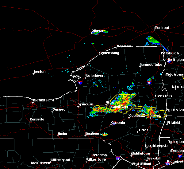 Radar Image for Severe Thunderstorms near Frankfort, NY at 7/20/2019 7:47 PM EDT