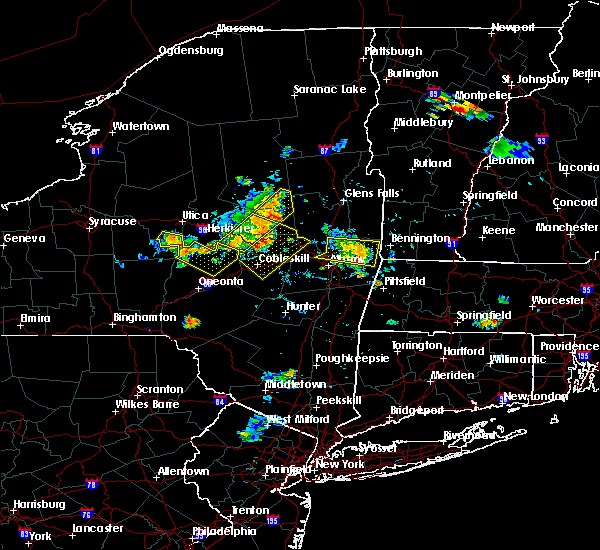 Radar Image for Severe Thunderstorms near Oriskany Falls, NY at 7/20/2019 8:09 PM EDT