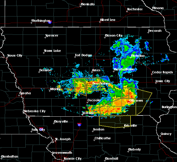 Radar Image for Severe Thunderstorms near De Soto, IA at 7/20/2019 7:17 PM CDT