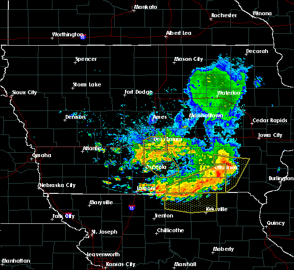 Radar Image for Severe Thunderstorms near Seymour, IA at 7/20/2019 7:35 PM CDT