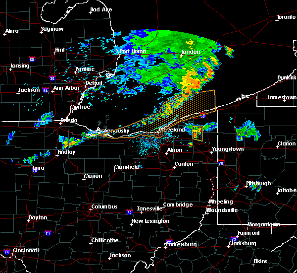 Radar Image for Severe Thunderstorms near Champion Heights, OH at 7/20/2019 9:14 PM EDT