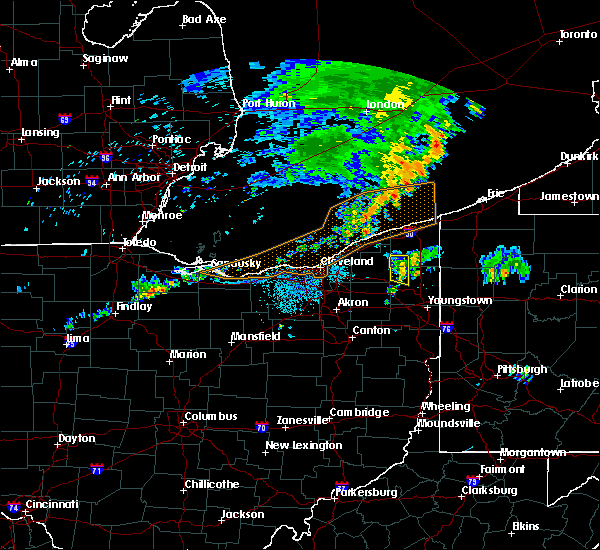Radar Image for Severe Thunderstorms near Champion Heights, OH at 7/20/2019 9:25 PM EDT