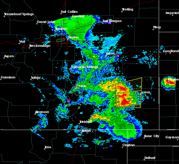 Radar Image for Severe Thunderstorms near Lamar, CO at 7/20/2019 7:44 PM MDT