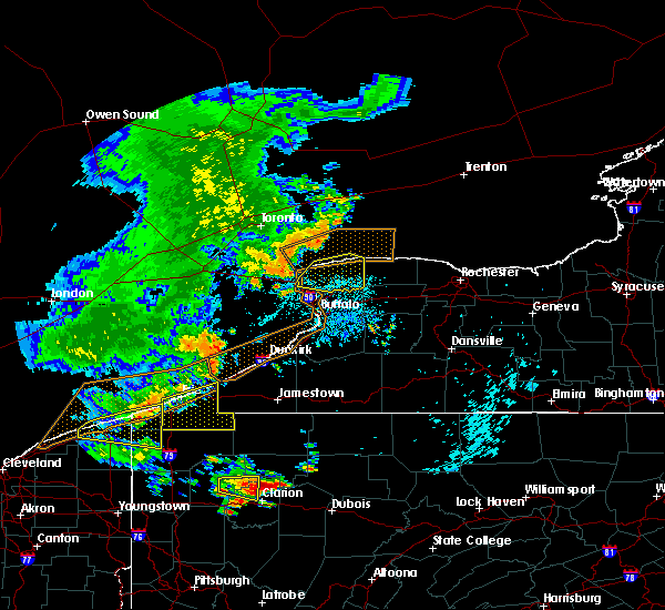 Radar Image for Severe Thunderstorms near Edinboro, PA at 7/20/2019 10:23 PM EDT