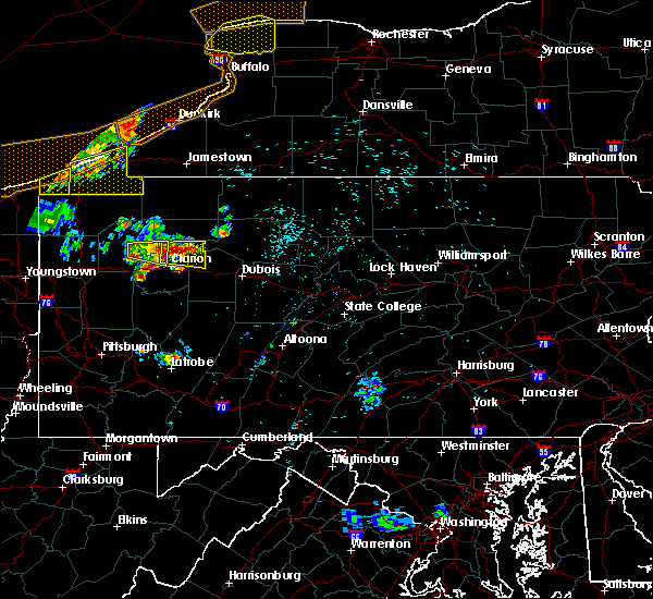 Radar Image for Severe Thunderstorms near Marianne, PA at 7/20/2019 10:28 PM EDT